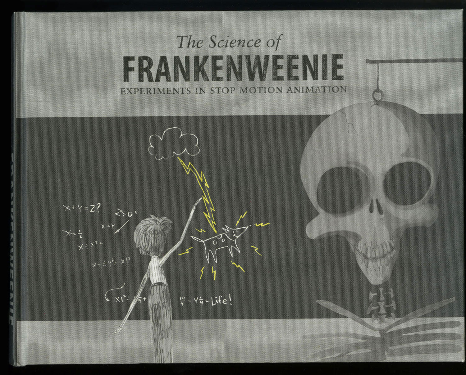 The Science of Frankenweenie: Experiments in Stop Motion Animation(A Cast & Crew Book) - Editor, PhotographerLimited Edition, © 2011 Disney Enterprises, Inc.Sample spreads here