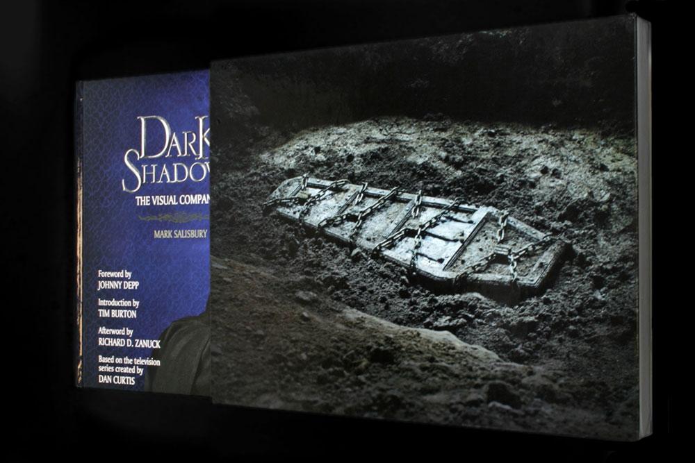 Dark Shadows:The Visual Companion - Editor, Contributing Photographer© 2012 Warner Bros. Entertainment Inc.http://www.trashmutant.com/book-review---dark-shadows-the-visual-companion.html