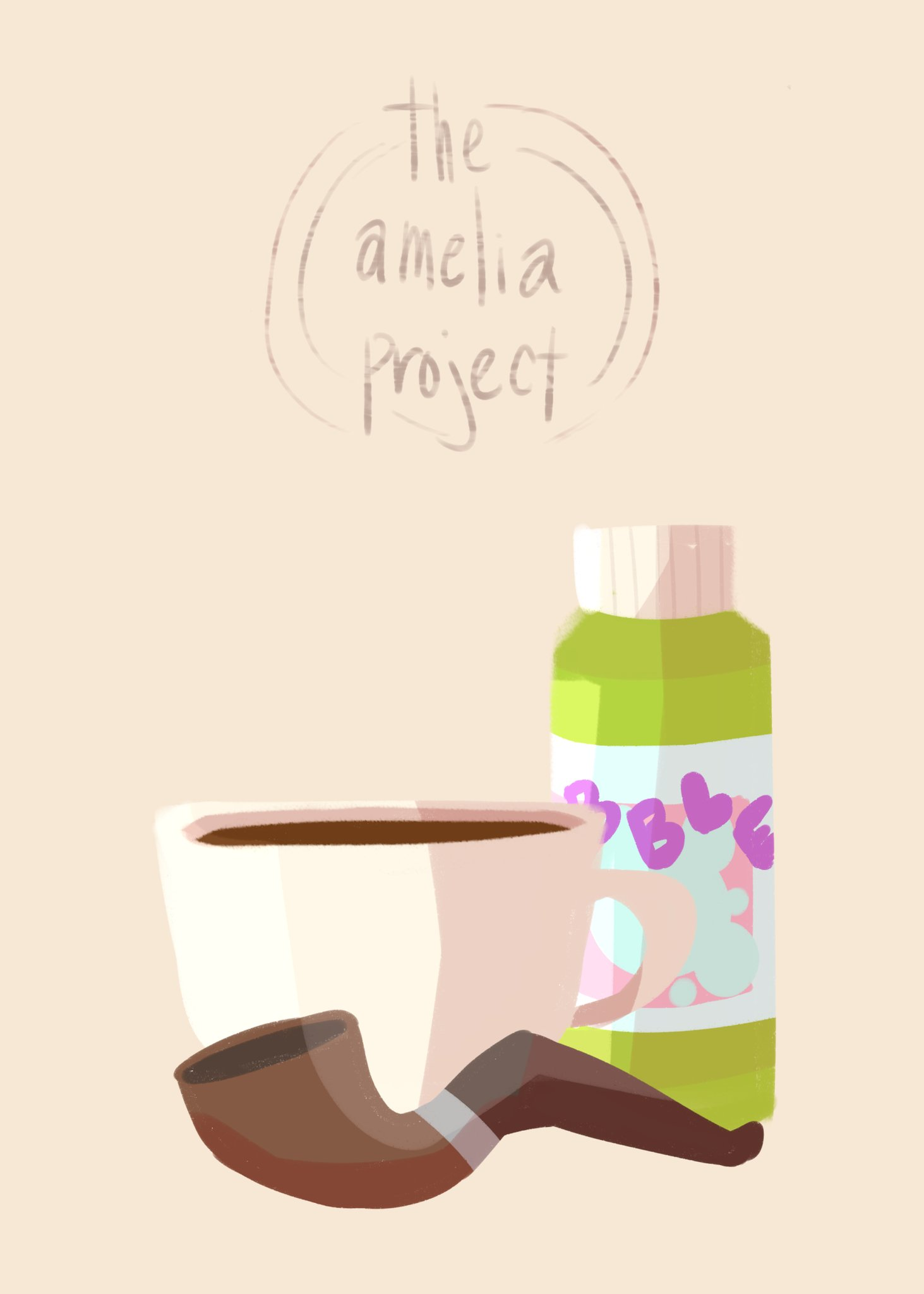 Cocoa and bubble pipe by @sameshork