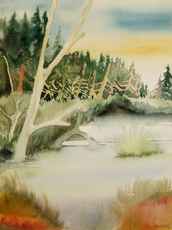 Millstättersee im Walde versteckter Bergsee / Lake Millstatt: A Mountain Lake Hidden in the Forest