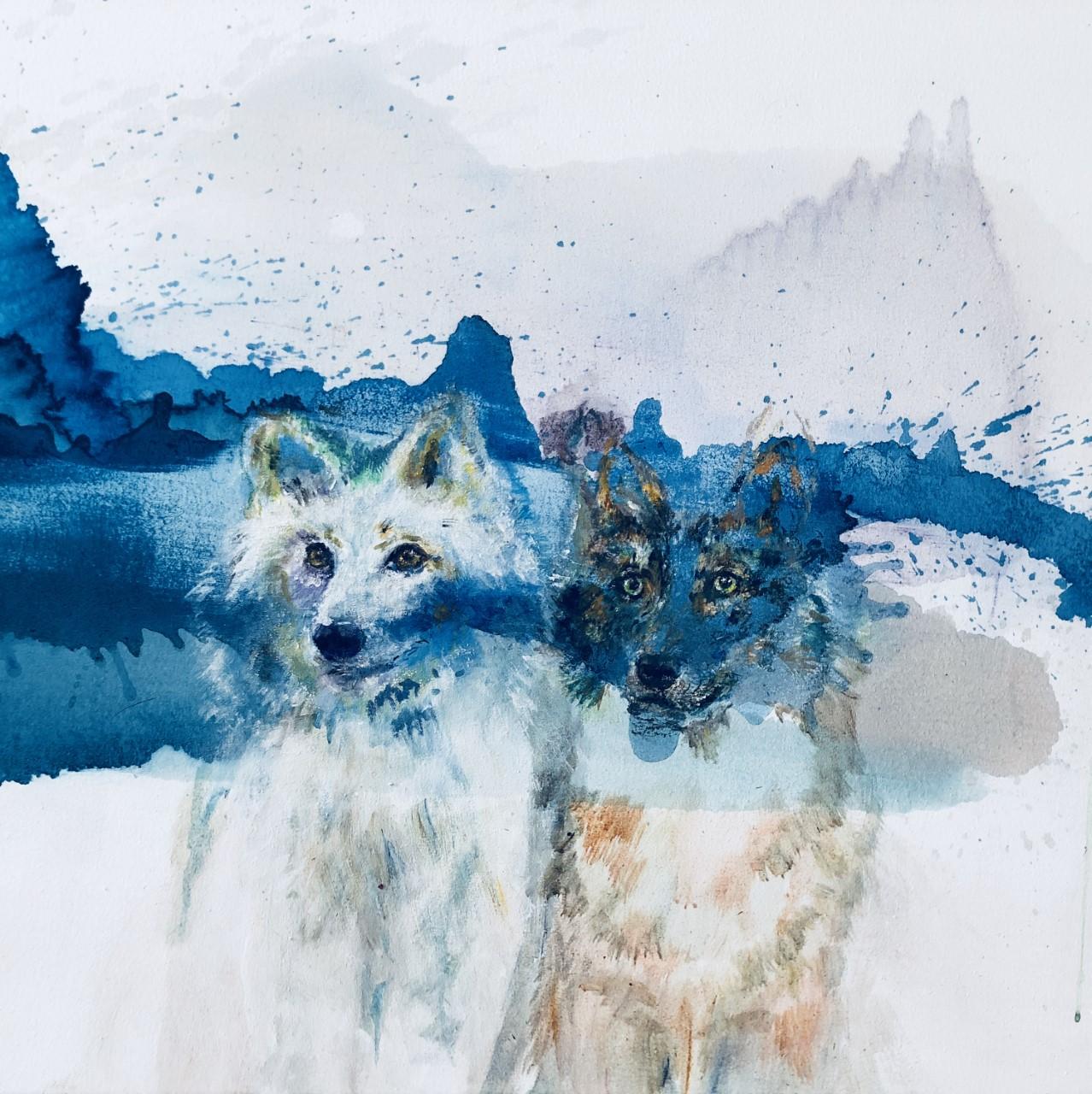 Arctic Wolves, 2018