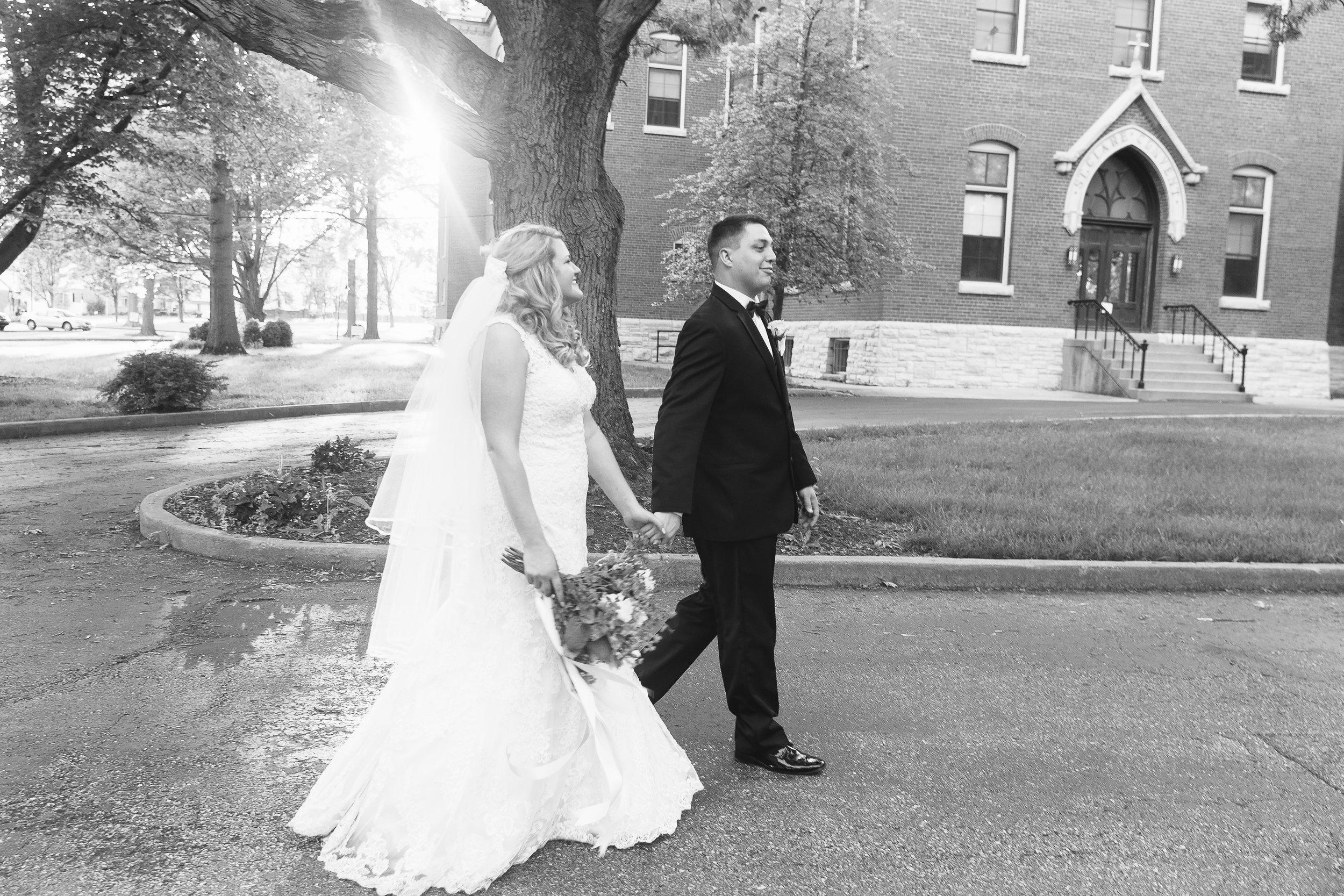 St. Clare Chapel Wedding