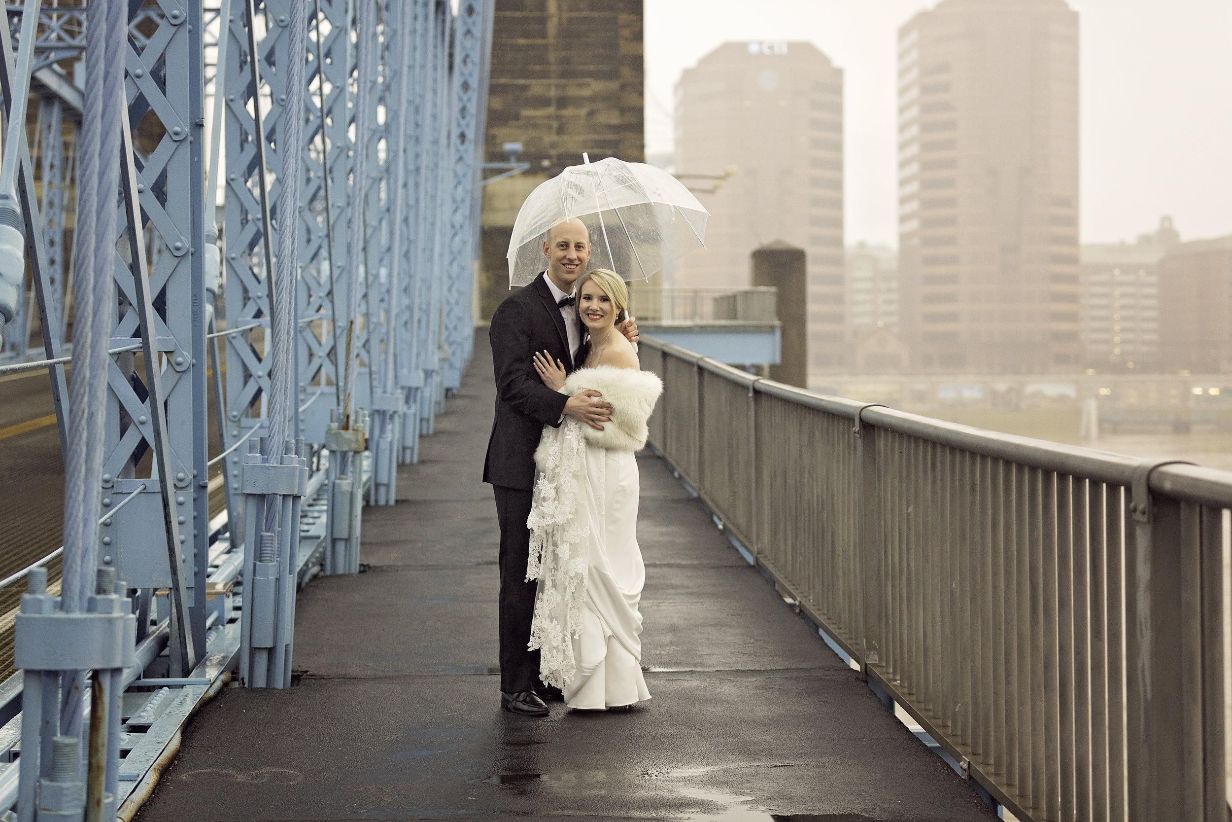Roebling Bridge Wedding Pictures