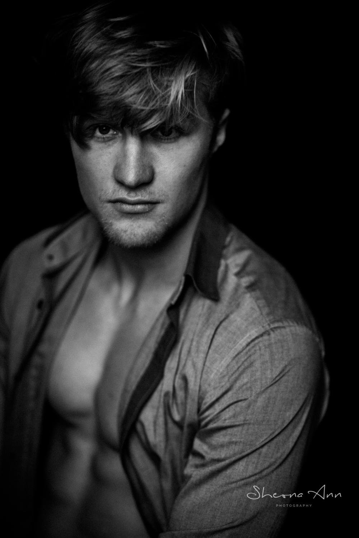 male model in shirt