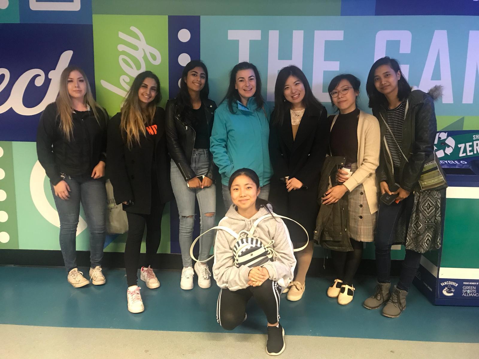 YELL Students Attending 'A Conversation with Ellen Degeneres'.