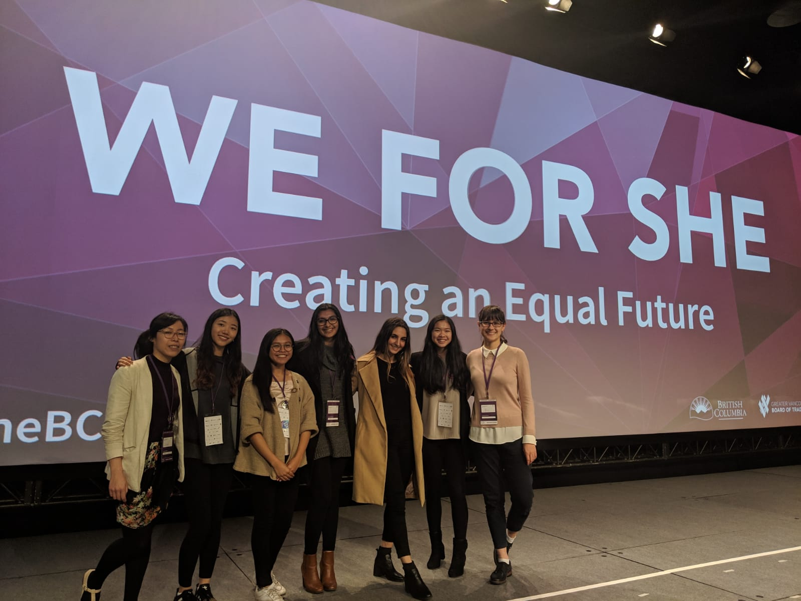 @WeForShe - Our YELL students definitely enjoyed the conference!