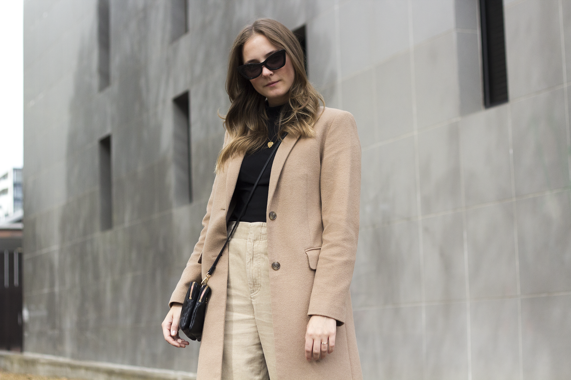 Beige Corduroy Wide Cropped Pant Street Style.png
