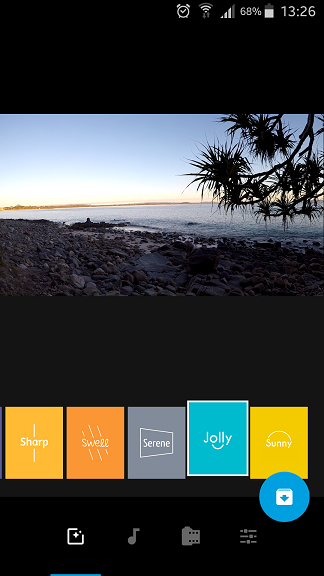 GoPro Quick Story Filters