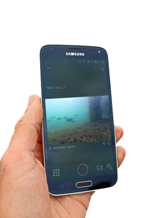 The Spot X Squid Cast allows GoPro and Garmin cameras to be viewed on iOS and Android devices