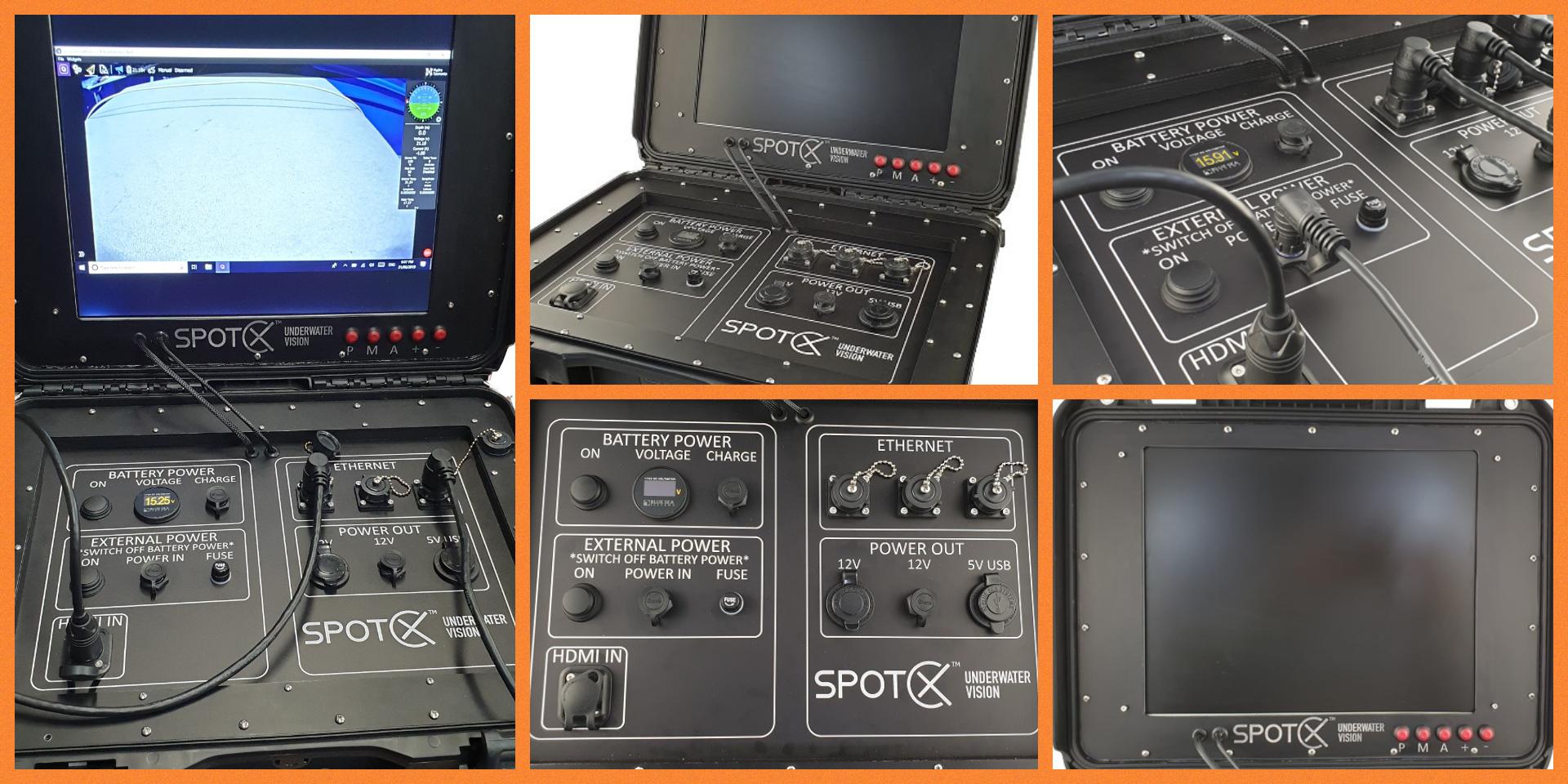 Spot X Custom Topside Console Design Service