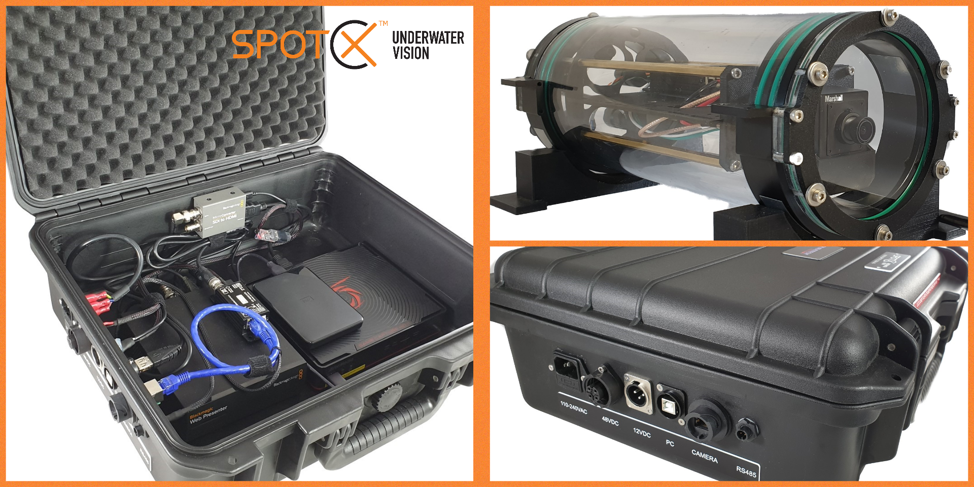 Spot X Live Web Streaming System