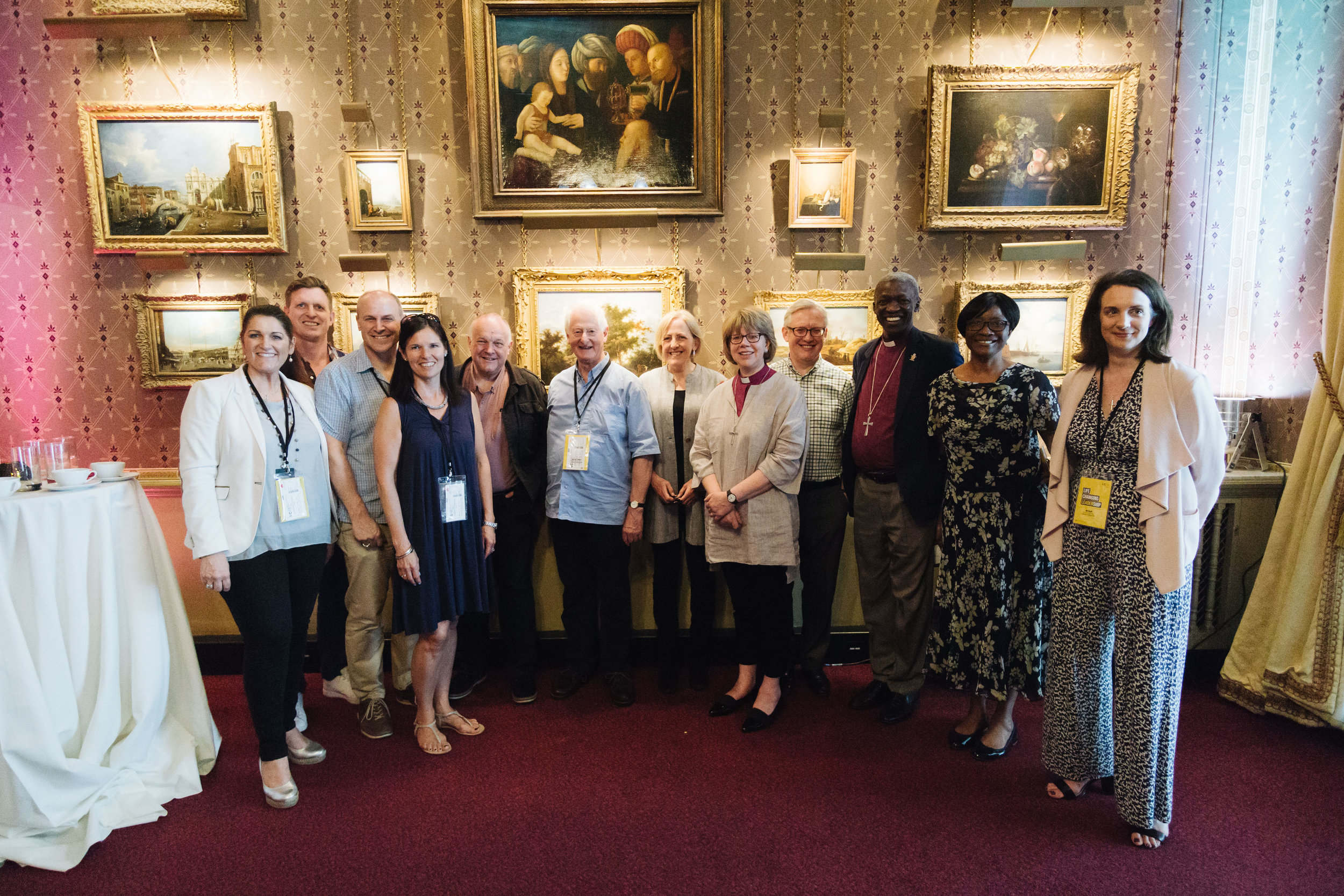 CRT was privileged to have Bishop Sarah Mullally host a Bishops tea at the Royal Albert Hall.