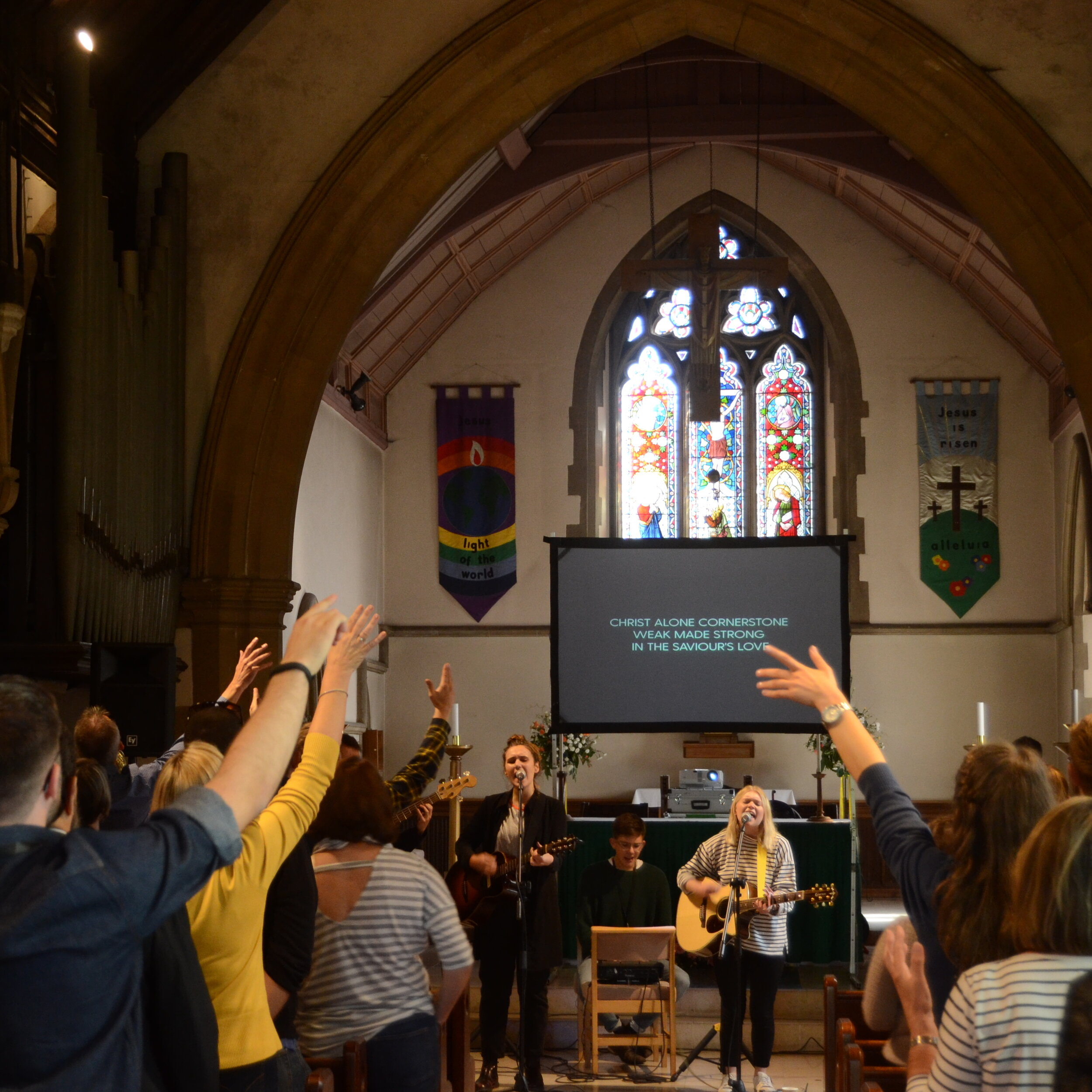 St John's Crawley - Watch their 2017 Launch video
