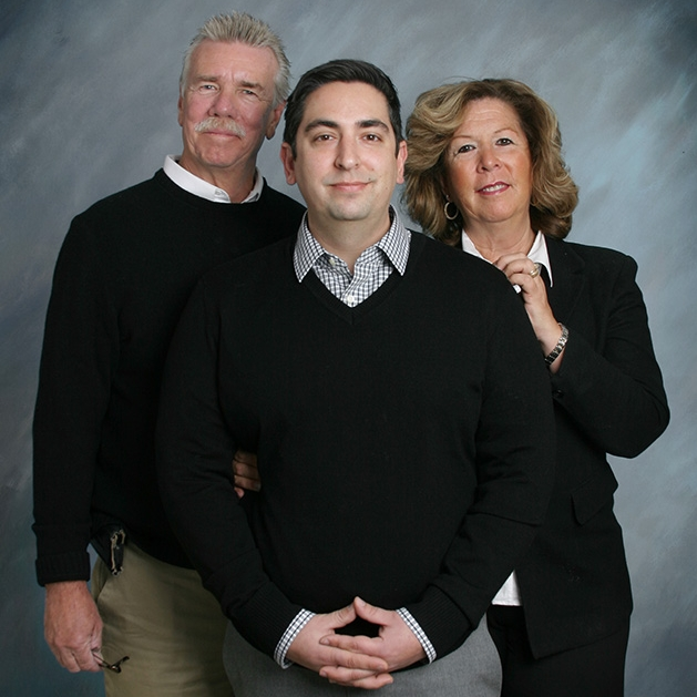 Meet the Team - Karen and Mark Harrington and their oldest son, Michael, make up the team that has been building distinctive new homes in Central New York for more than 30 years. The second-generation family-owned company is renowned for its high-quality work and incredible attention to detail.