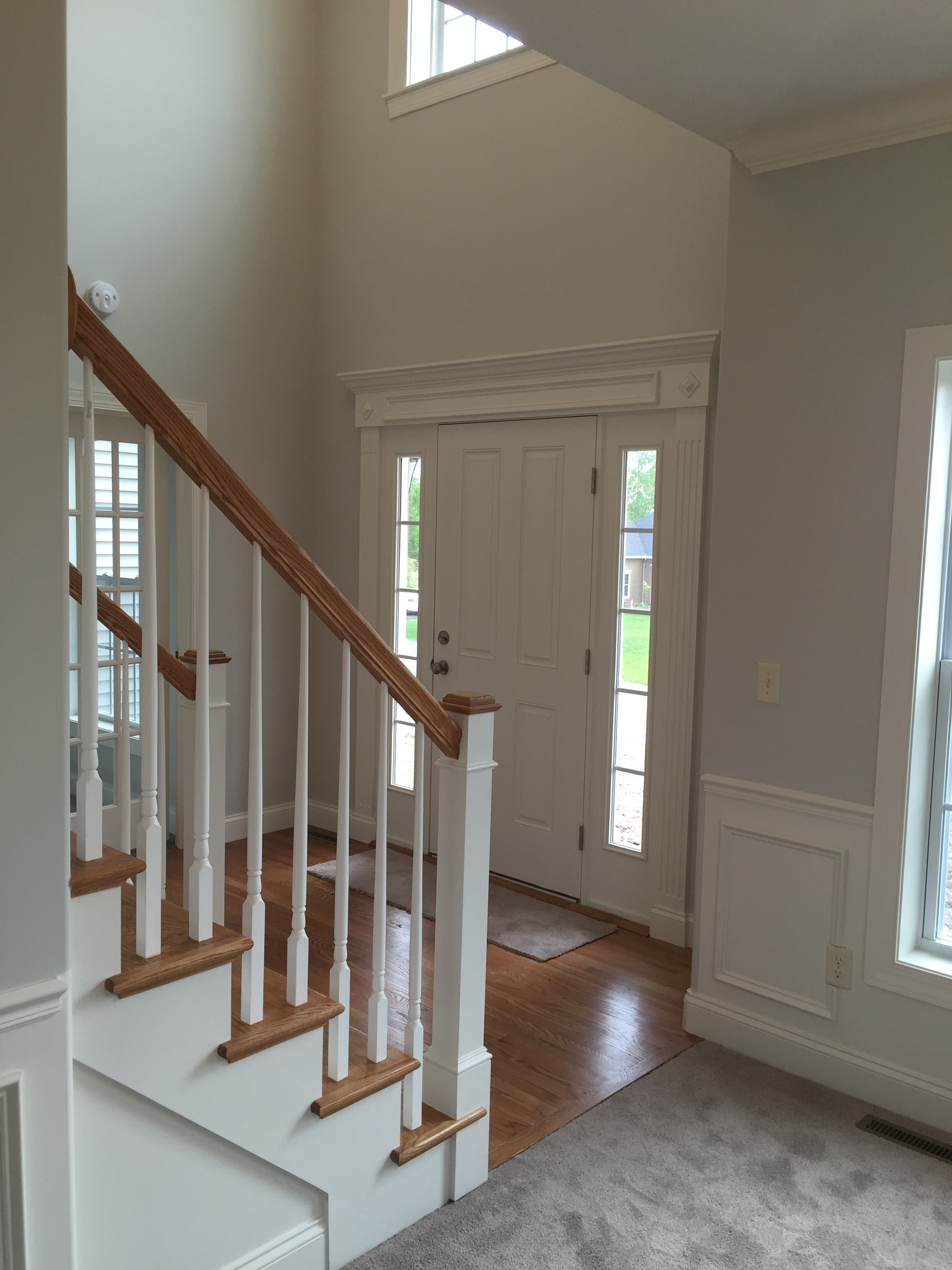 Providence foyer and stair from Dining rm.JPG