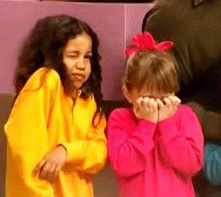 You wake up and discover it's #Thursday #today, not #Friday. What's your #vibe? #Jurnee or #MK? . . . #girls #what #no #wakeup #mixup #sleepy #tired #confused #90s #fullhouse #classicshows #oldschool #tgif #almosttheweekend #thursdaze #help #onemoreday #funny #comedy #sitcoms