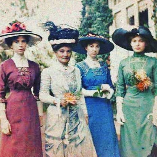 Showing up to #Easter #Sunday service with the #squad like... . . . #HappyEaster #weekend #GoodFriday #holiday #springtime #victorian #girlgang #edwardian #ladieswholunch #Friday #Friyay #fashion #girls #ladies #highsociety #friends #friendships #friendish #newfriends