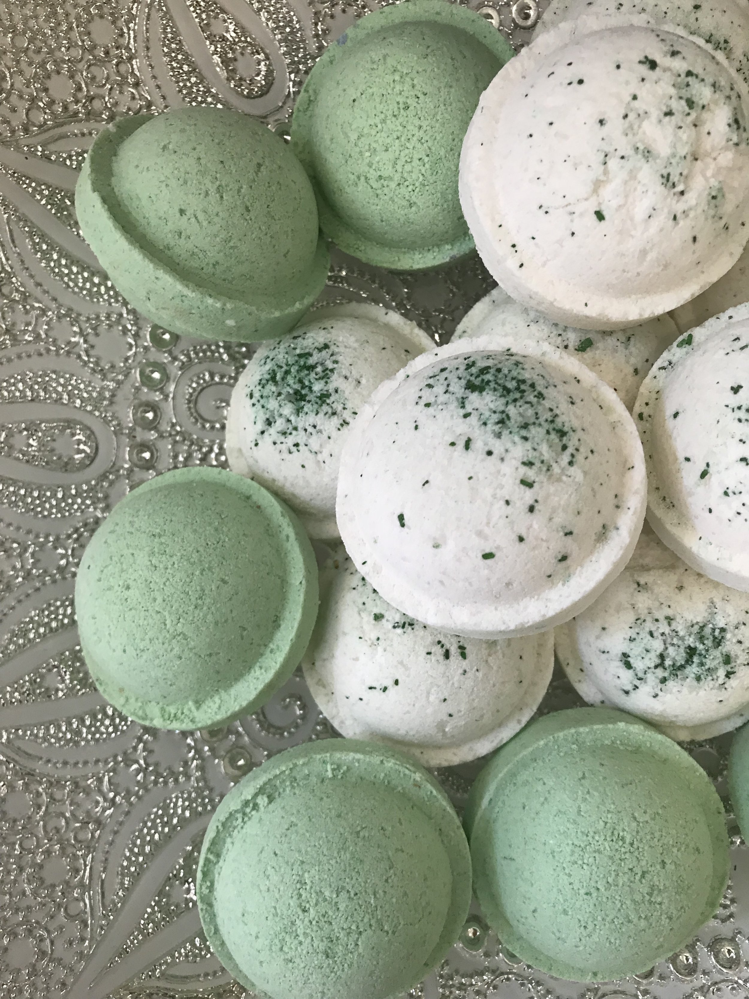 Apple Bath Bomb - $7.97