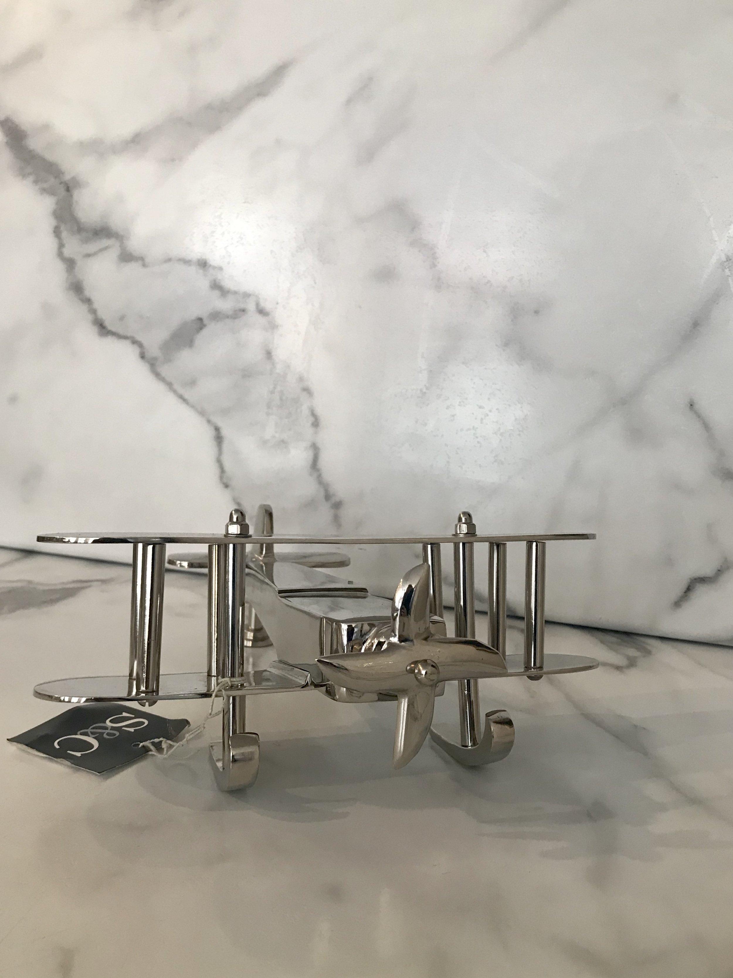 Silver Plane - $92.95