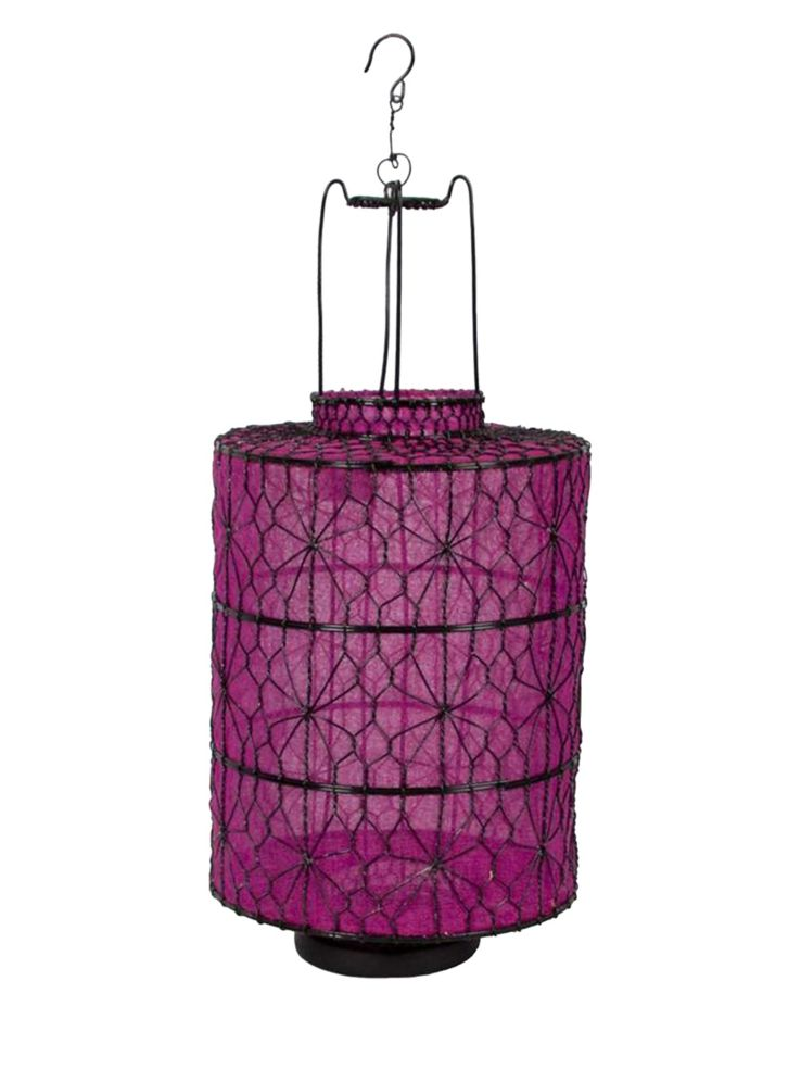Cobi Style Fabric Lantern in Pink, Amanda's House Of Elegance  ($34.95)