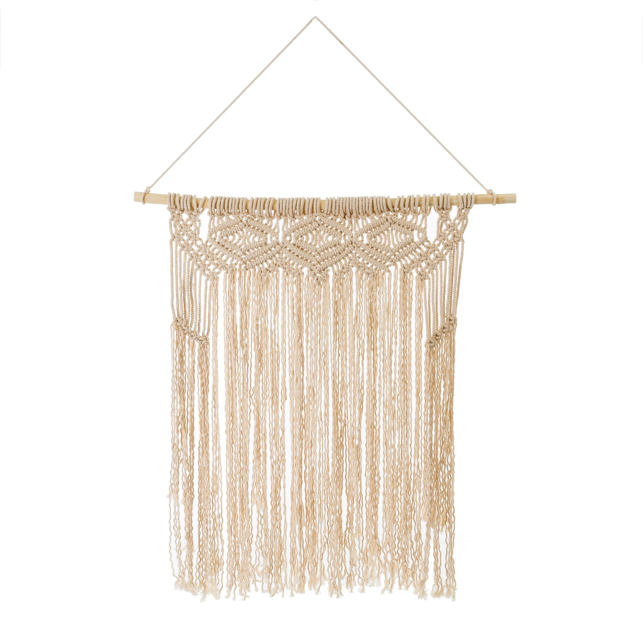 Cotton Macrame Wall Hanging in Natural, Amanda's House Of Elegance  (Special Order Only)   ($50.95)