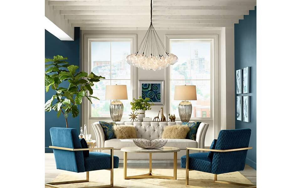 Mixing Lamps In Living Room House