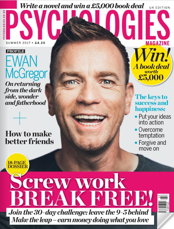 interview in psychologies magazine - ways into wonder