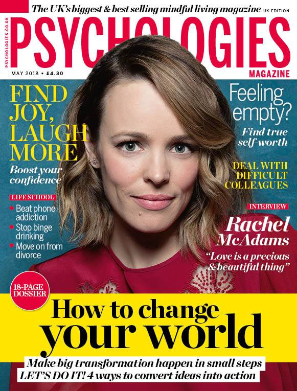 interview in psychologies magazine - learn about creating rituals
