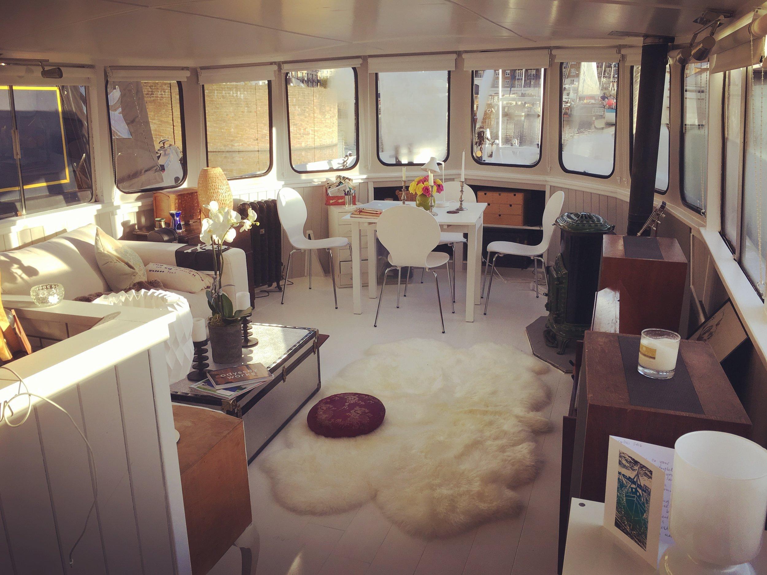 my houseboat -