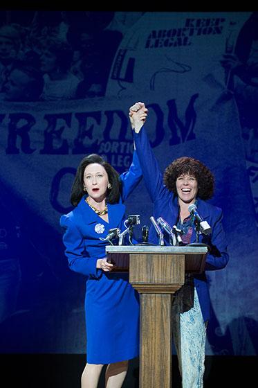 Amy Newman and Sara Bruner