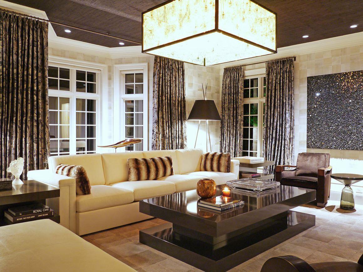 Modern Residential Living Room