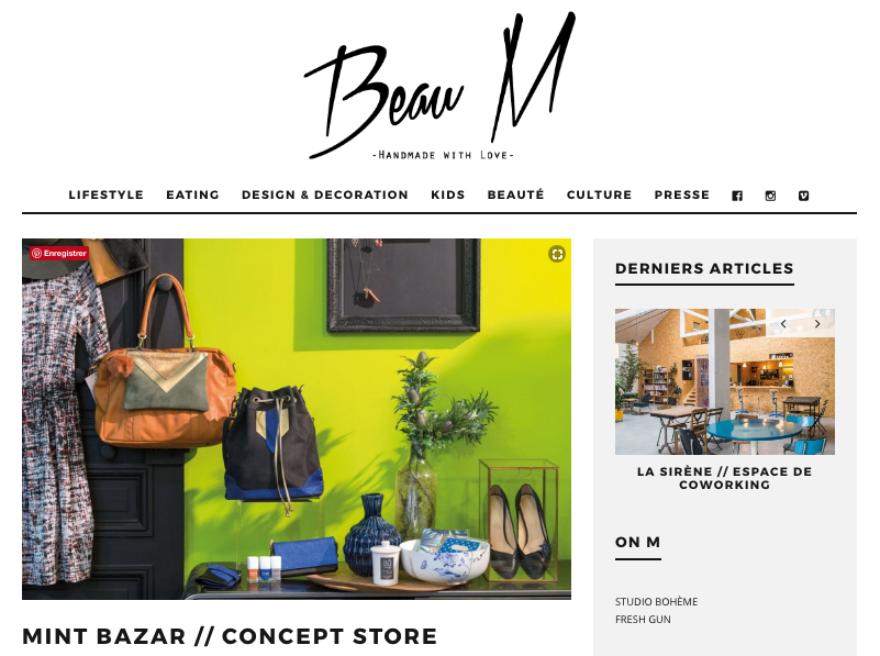 parution mint bazar