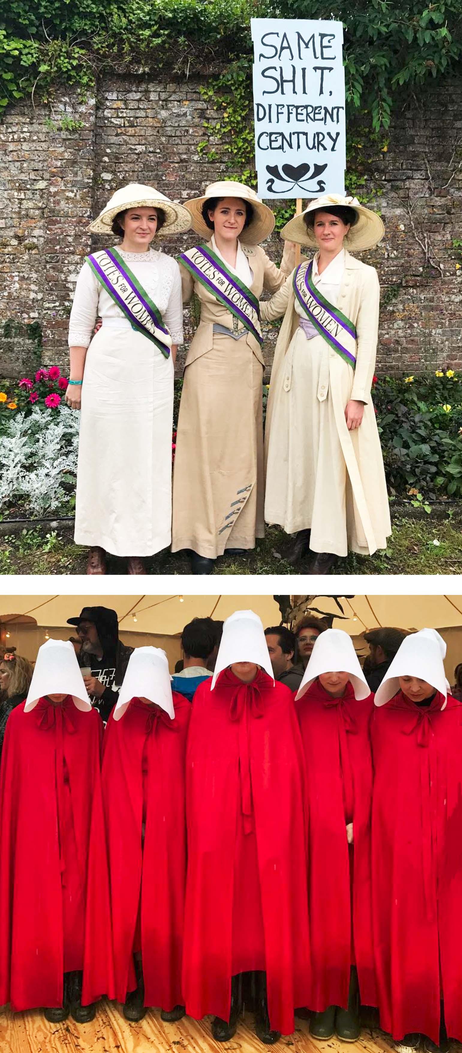 port Eliot festival 2017 - protest fashion