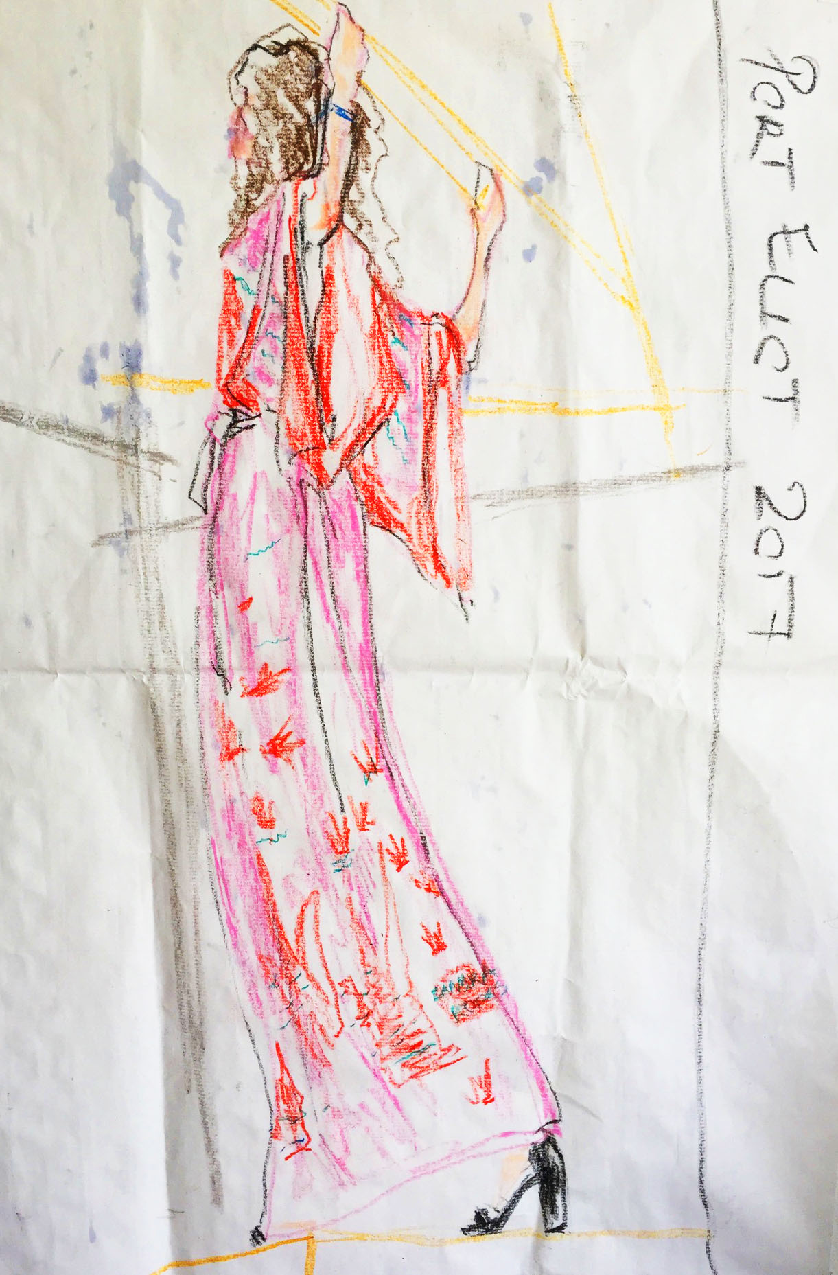 selfish wardrobe draws Sandra Rhodes
