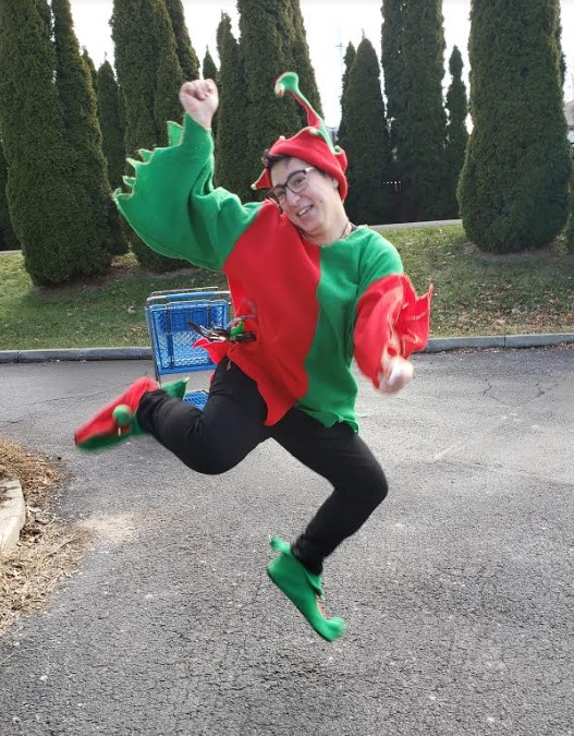 Hannah! Our Finest Elf!!