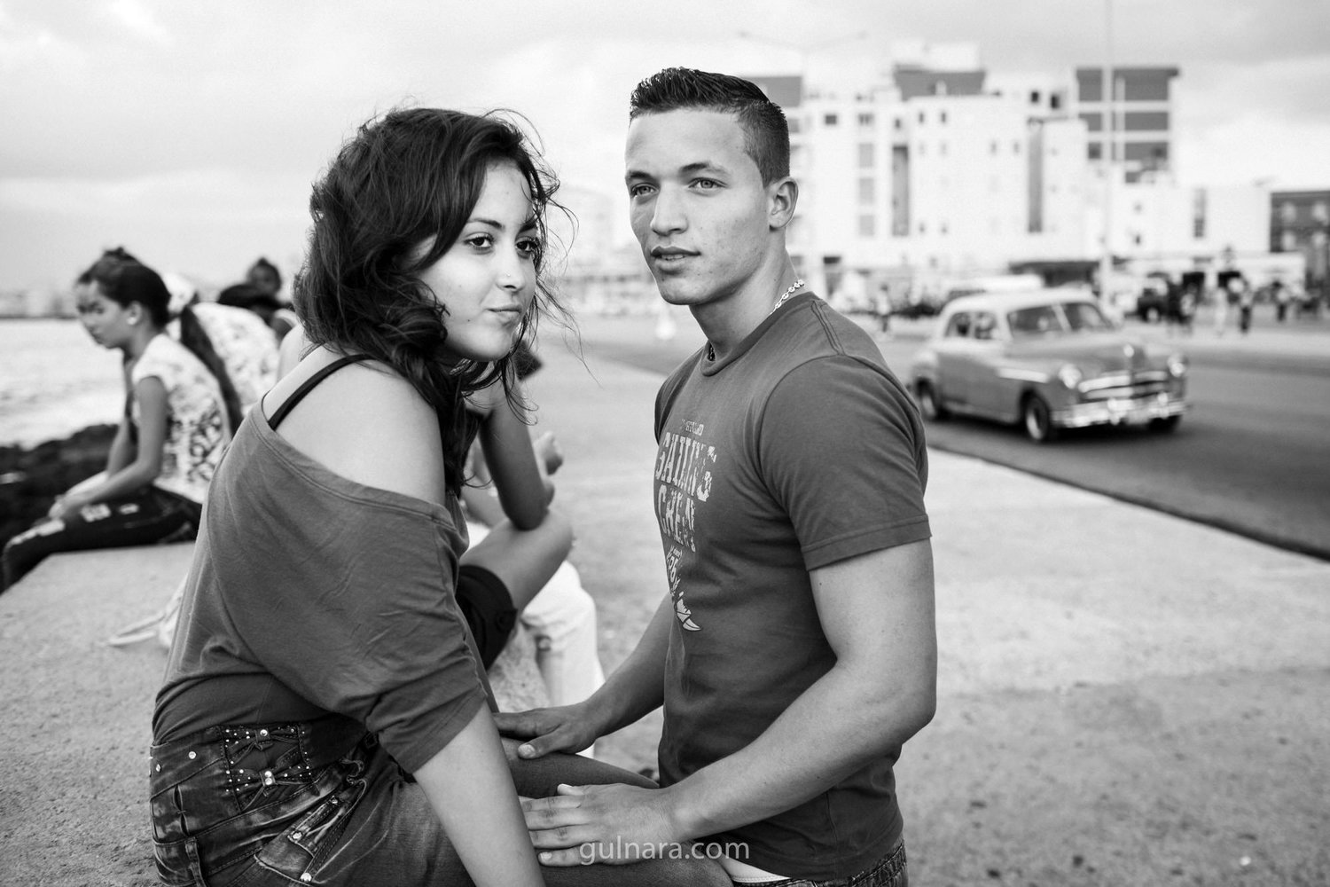 award winning photographer Gulnara  - cuba street photography