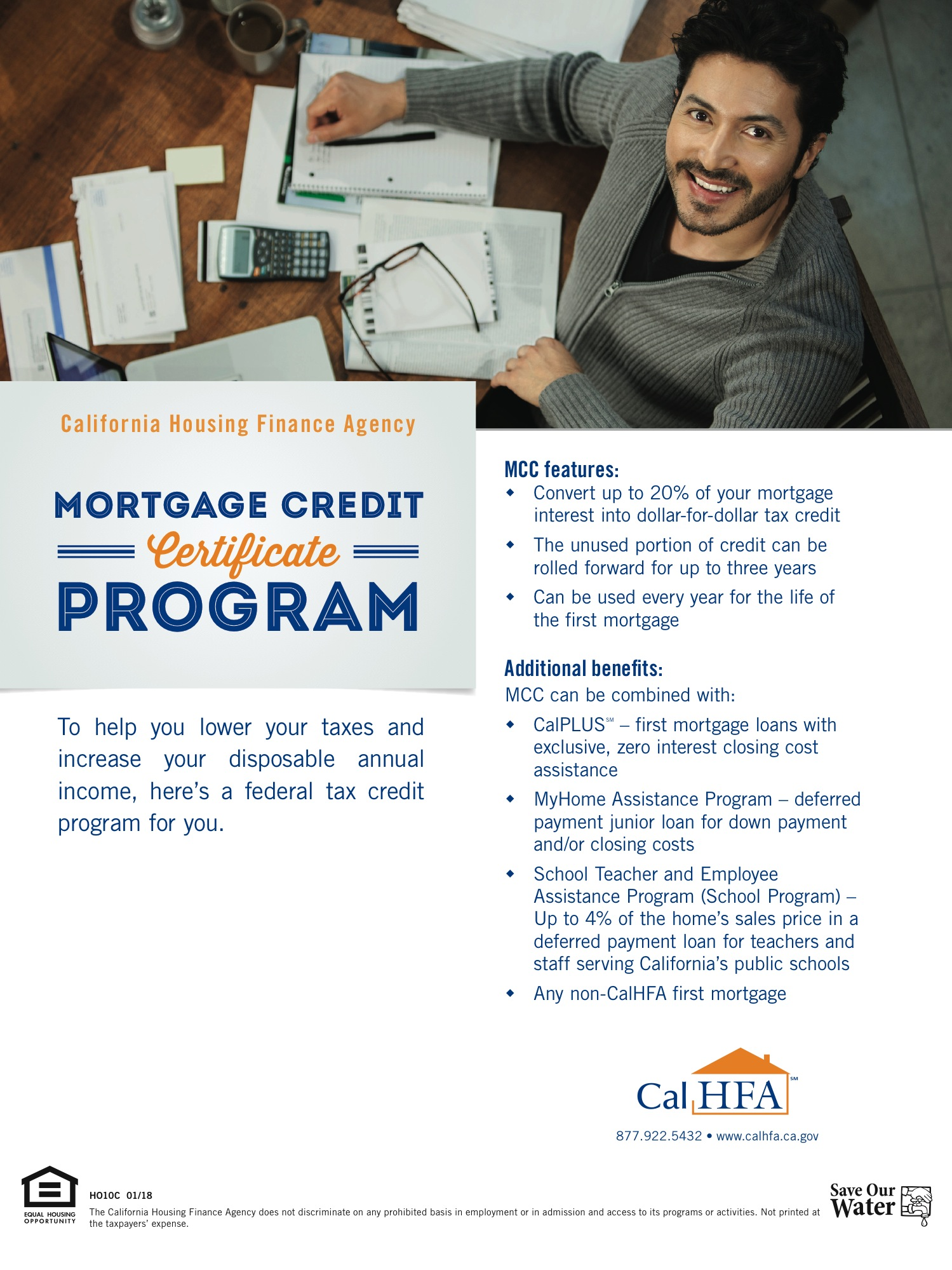 Mortgage Credit Certificate Program - Convert up to 20% of your mortgage interest into dollar-for-dollar tax credit...