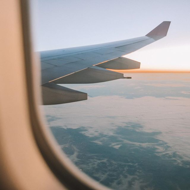Up up and away ✈️ do you enjoy traveling for business? Yes or no? #brandvibe