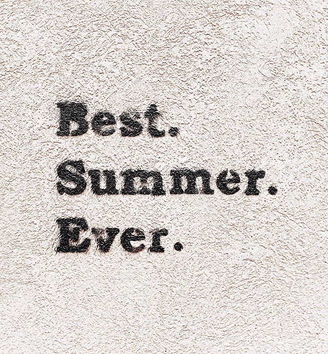 Going to go ahead and put it out there. Summer, we're ready for you ☀️☀️☀️ #happysummer #firstdayofsummer