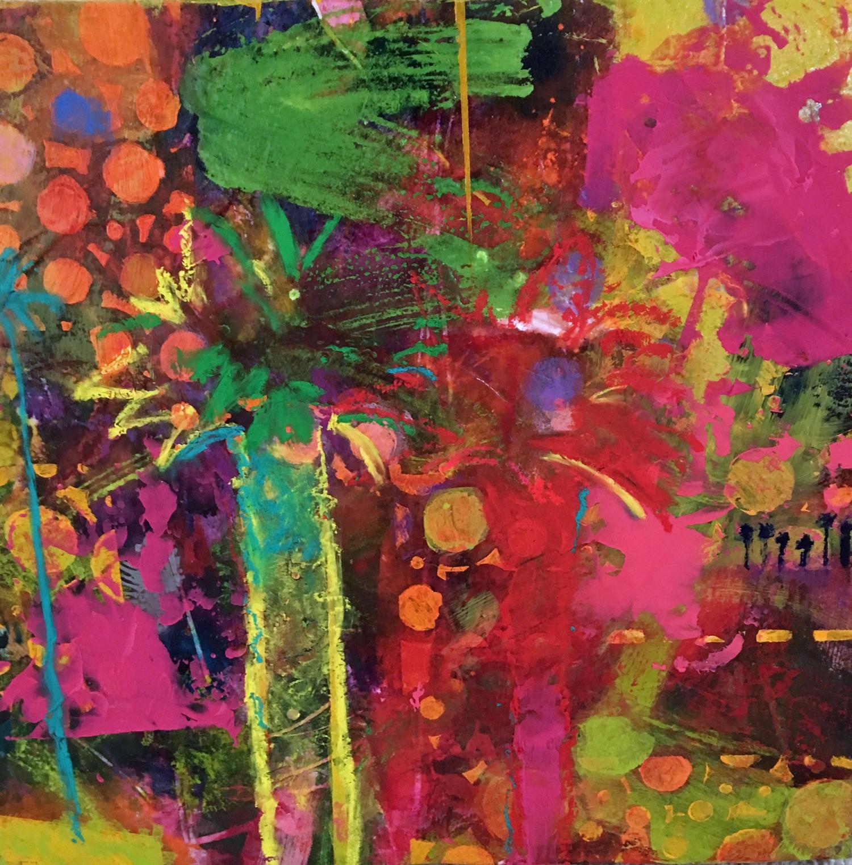 Hot Tropicsm  - Acrylic Painting