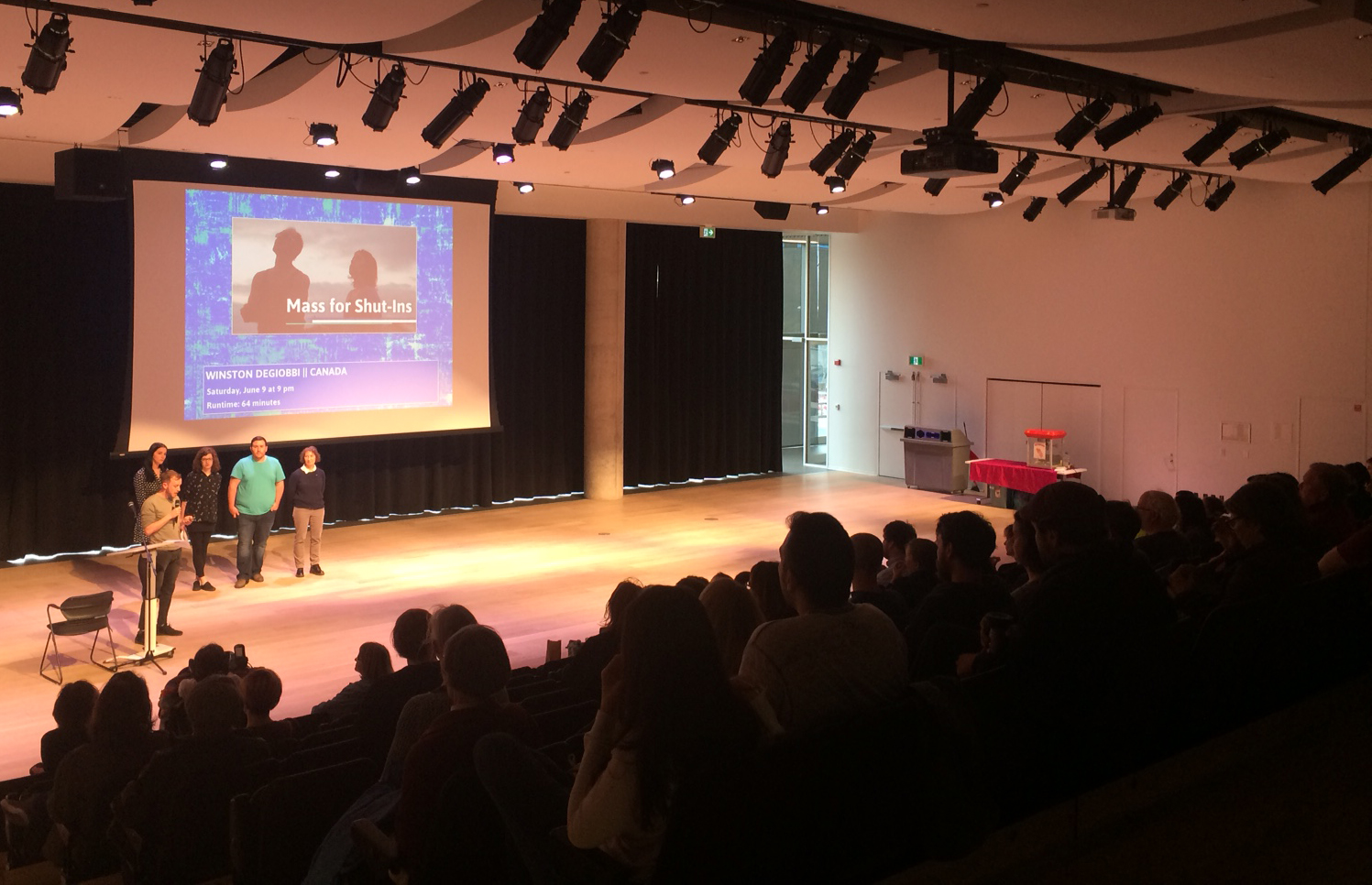 The HIFF Programming Committee presented the 2018 line up to a large crowd at the Halifax Central Library on Tuesday, May 15