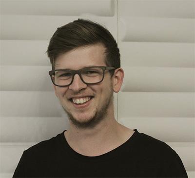 Roller Skates & Hand Grenades  filmmaker Dominic Fegan