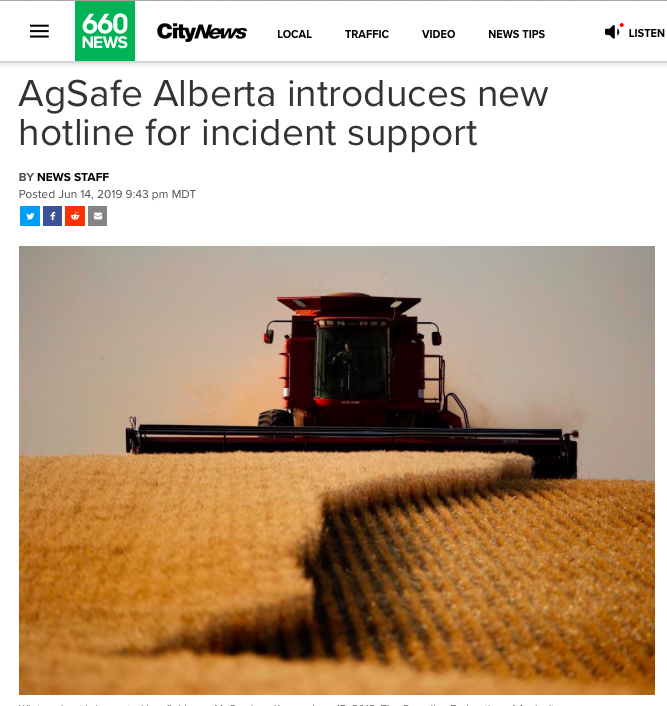 AgSafe Alberta on 660 NEWS.png