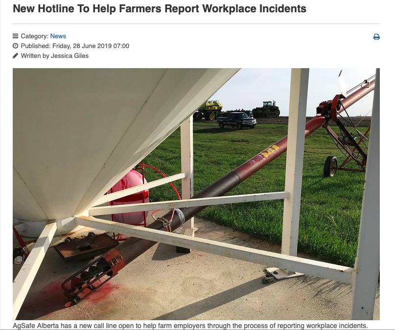 News — AgSafe Alberta