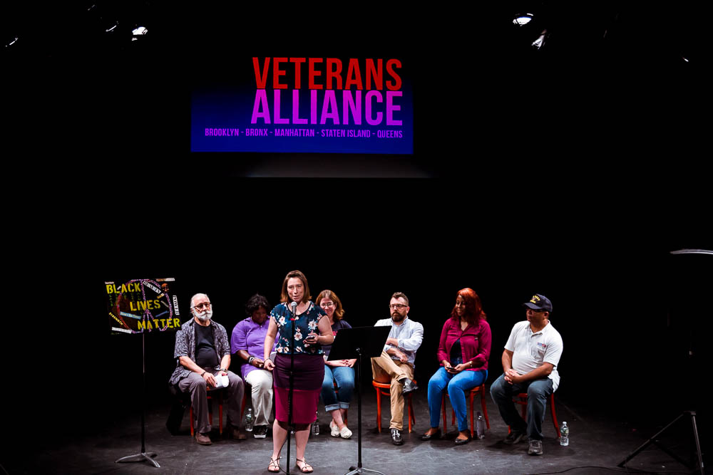 The Veterans Alliance, 2018 Photo by Dana Trunk