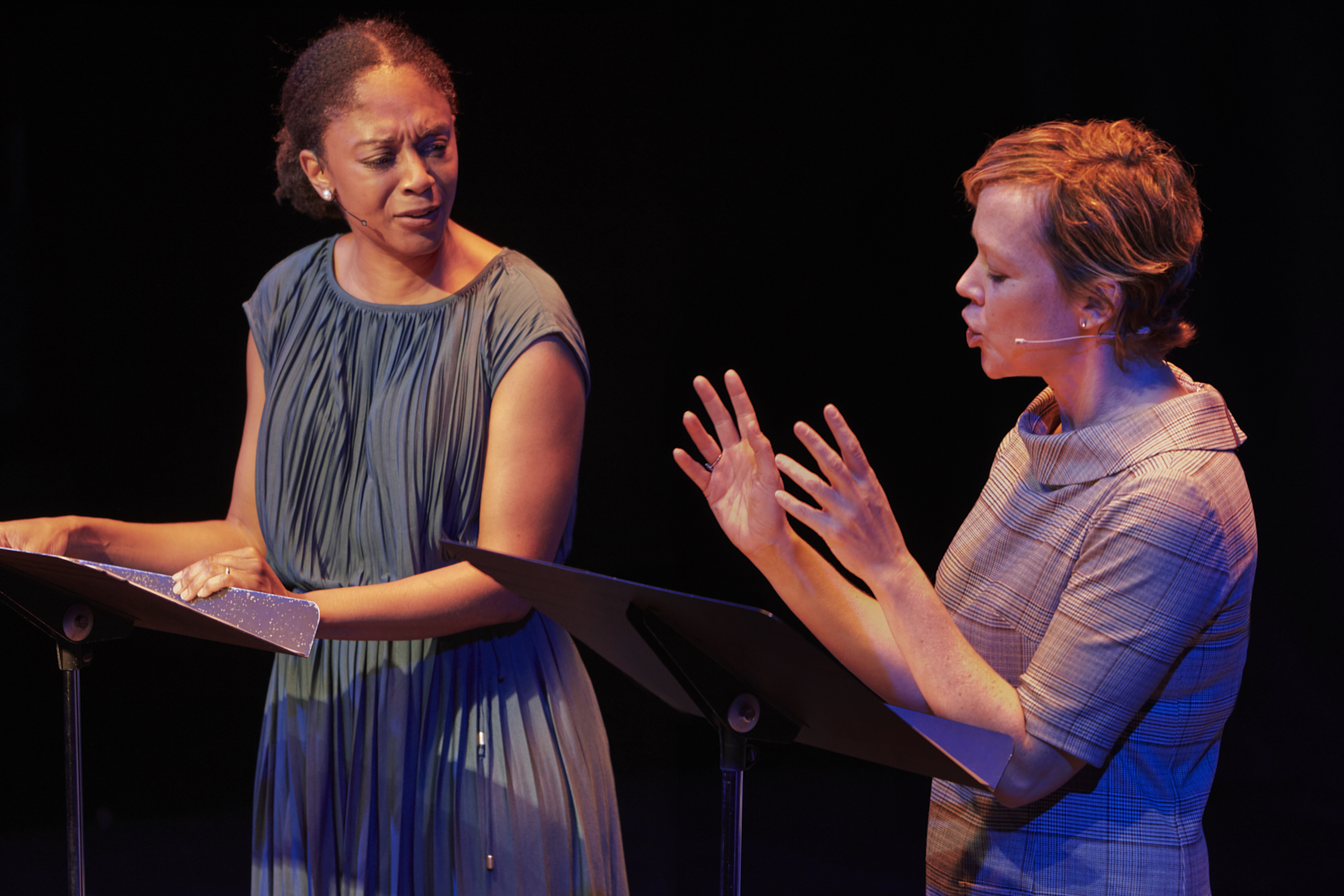 April Matthis  and  Emily Bergl  record  Gracie Gardner 's  HATE BABY  live at the 52nd Street Project Theater