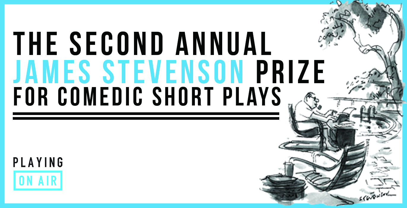 Submissions Now Open for Stevenson Prize 2019 — Playing On Air