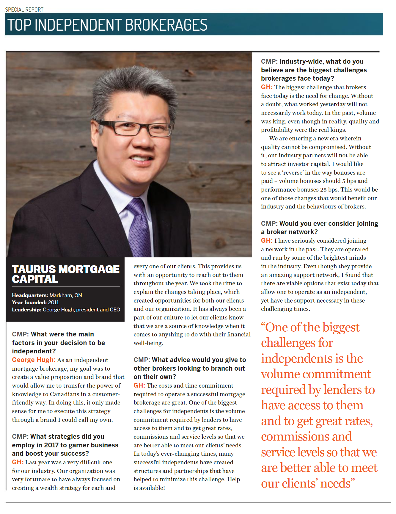TMC - CIMBC Article Featuring George Hugh.png