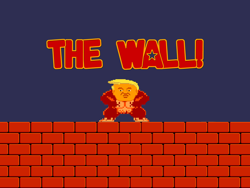 The Wall - Splash Page