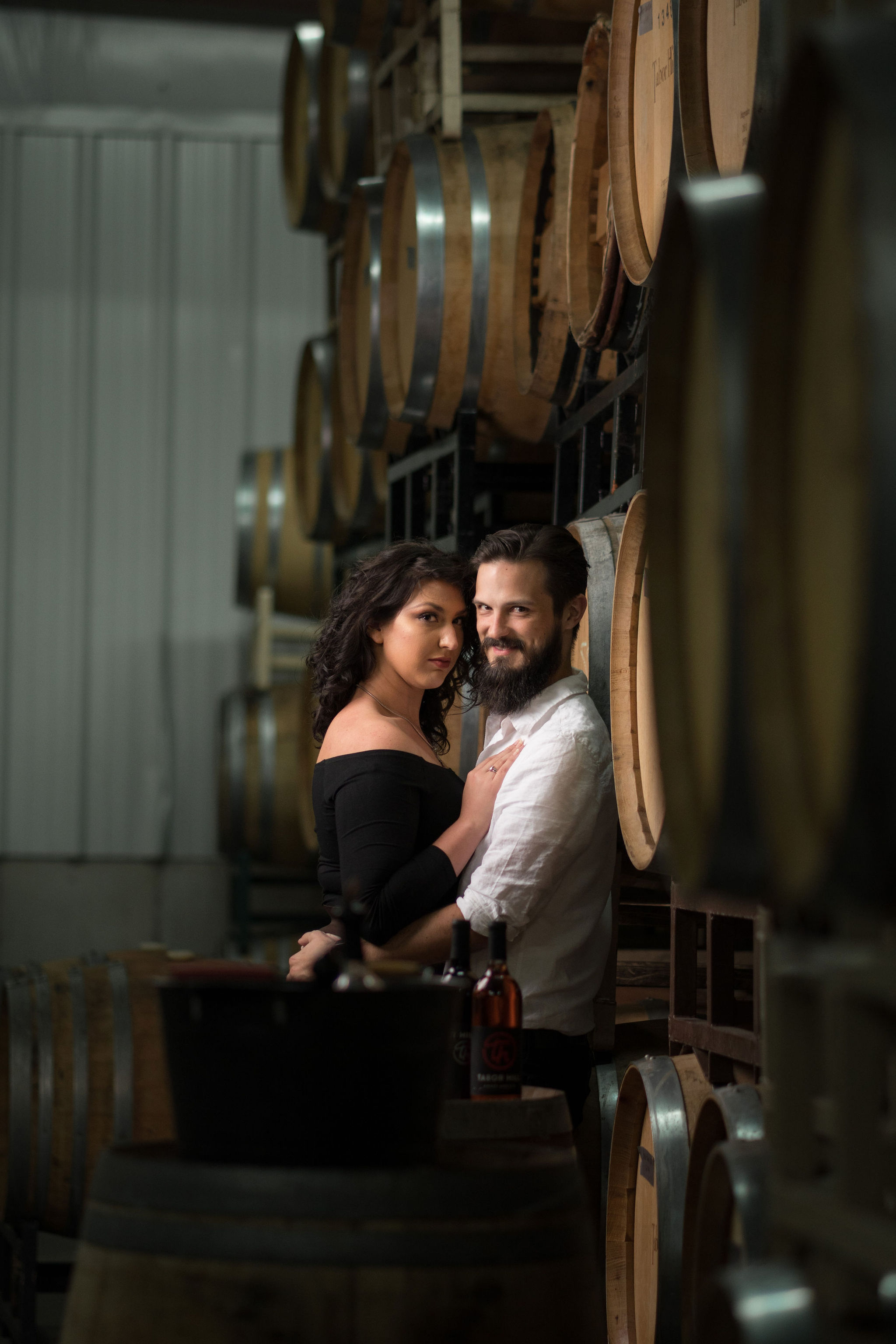 Tyler + Chael's Tabor Hill Winery Engagement Session_1.jpg